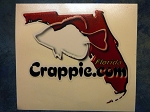 Crappie.com State Decal - Florida