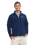 Embroidered Crappie.com Fleece - Baltic Blue Or Black